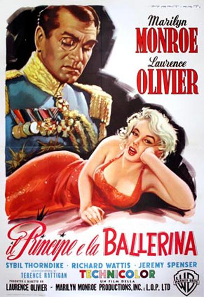 Locandina italiana Il principe e la ballerina
