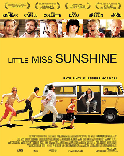Locandina italiana Little Miss Sunshine