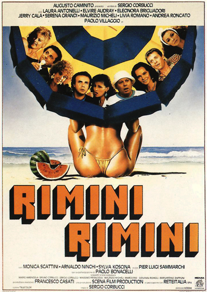 Locandina Rimini Rimini