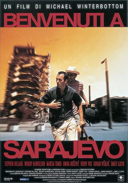 Locandina italiana Benvenuti a Sarajevo