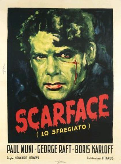 Locandina italiana Scarface - Lo sfregiato