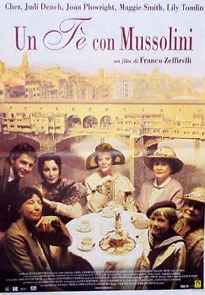 Poster Un tè con Mussolini