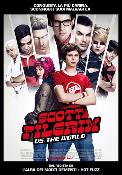 Locandina italiana Scott Pilgrim vs. The World