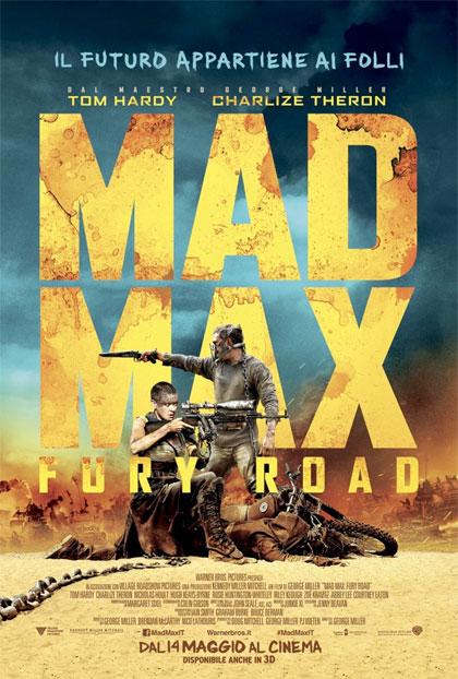 Locandina italiana Mad Max: Fury Road