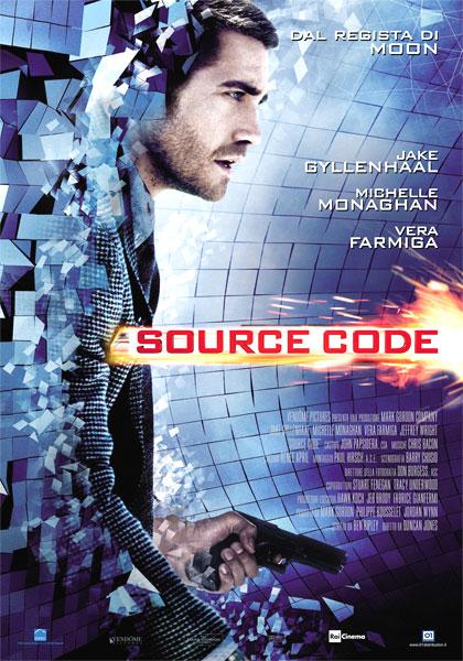 Locandina italiana Source Code