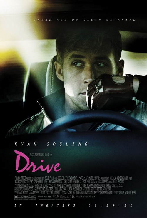 La locandina del film Drive