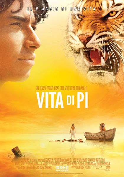 Locandina italiana Vita di Pi