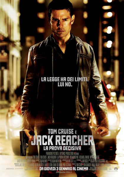 Locandina italiana Jack Reacher - La prova decisiva