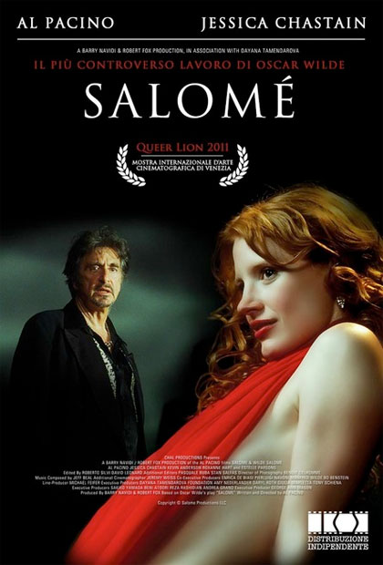 Locandina italiana Wilde Salomé