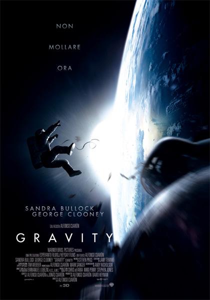 Locandina italiana Gravity