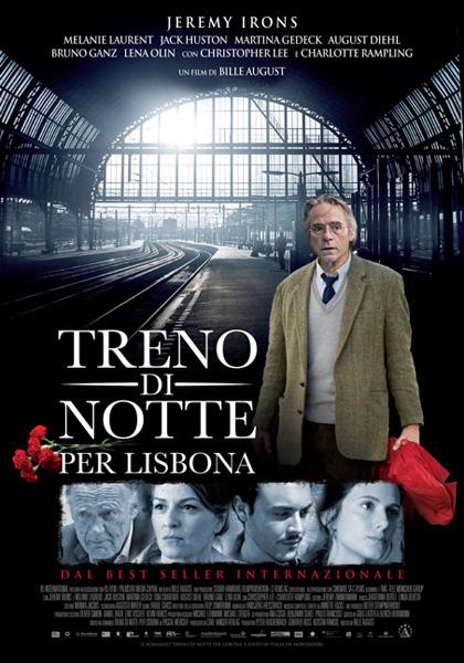 Locandina italiana Treno di notte per Lisbona