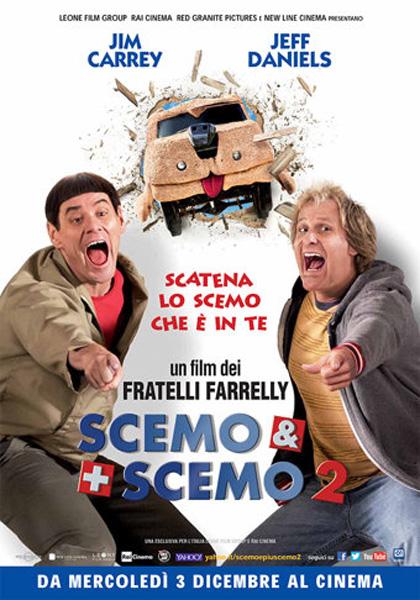Locandina italiana Scemo & più scemo 2