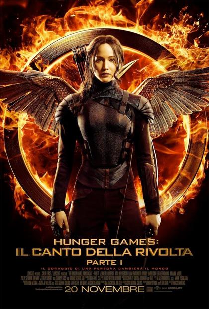 Locandina italiana Hunger Games: Il canto della rivolta - Parte I