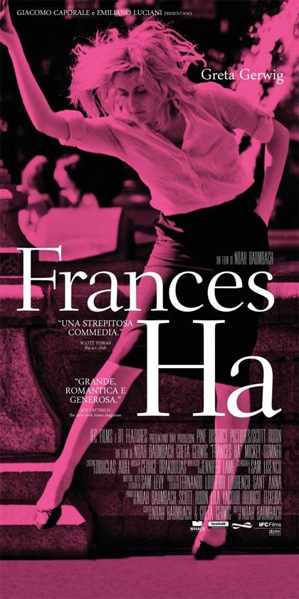 Locandina Frances Ha