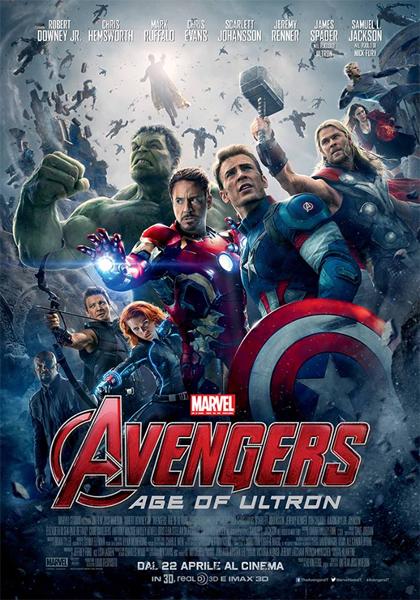 Locandina italiana Avengers: Age of Ultron