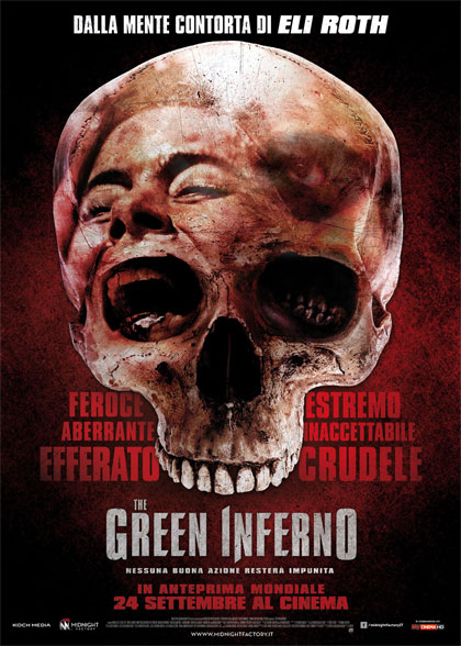 Locandina italiana The Green Inferno