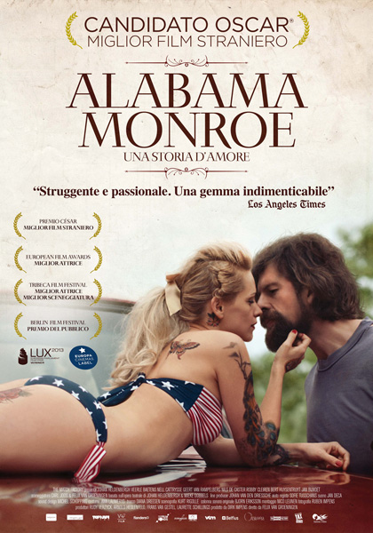 Locandina italiana Alabama Monroe - Una storia d'amore