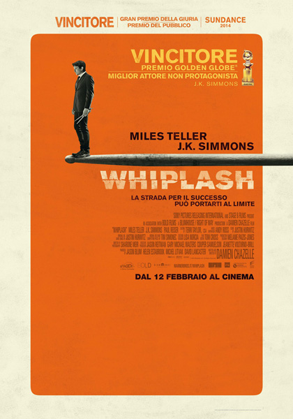 Locandina italiana Whiplash