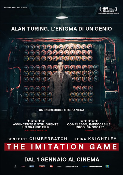 Locandina italiana The Imitation Game