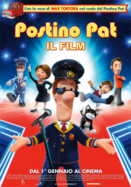 Locandina Postino Pat - Il film