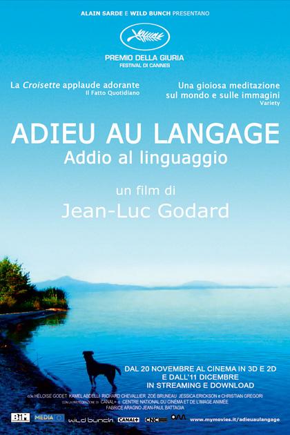 Locandina italiana Adieu Au Langage - Addio al linguaggio