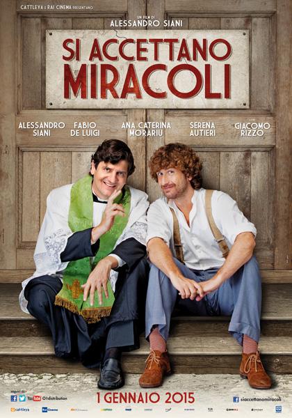 Locandina italiana Si accettano miracoli