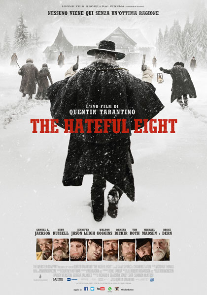 Locandina italiana The Hateful Eight