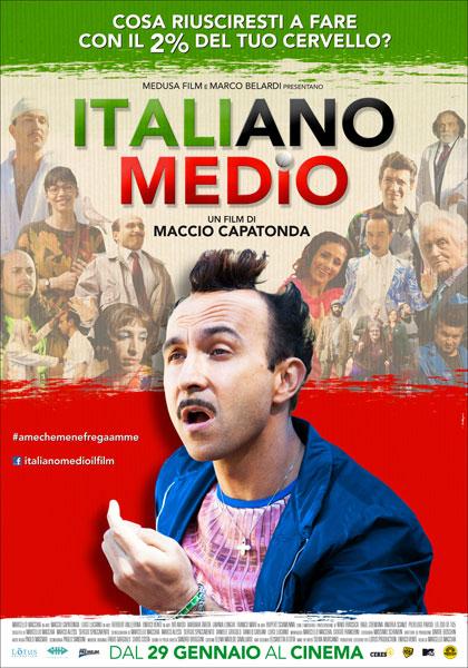Locandina Italiano medio