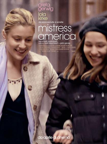 Locandina italiana Mistress America