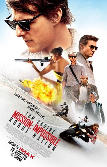 Locandina italiana Mission: Impossible - Rogue Nation