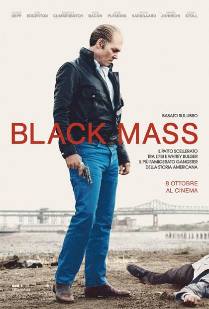 Locandina italiana Black Mass - L'ultimo gangster