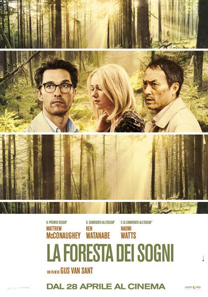 Locandina italiana La foresta dei sogni