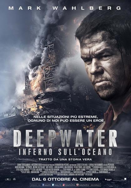 Locandina italiana Deepwater - Inferno sull'Oceano