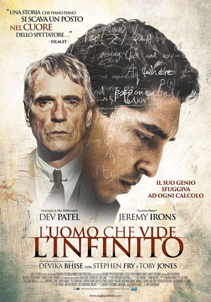 Locandina italiana L'uomo che vide l'infinito