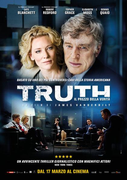 Locandina italiana Truth - Il prezzo della verità