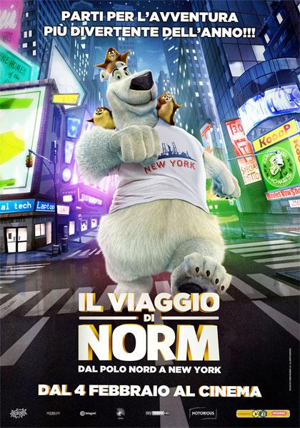 Locandina italiana Il viaggio di Norm