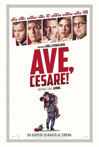 Locandina italiana Ave, Cesare!