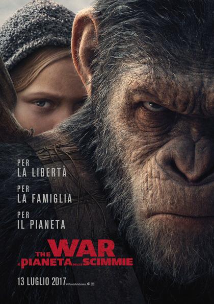 Locandina italiana The War - Il pianeta delle scimmie