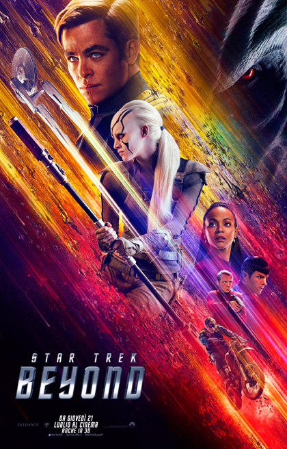 Locandina italiana Star Trek Beyond