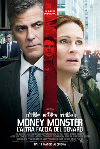 Locandina italiana Money Monster - L'altra faccia del denaro