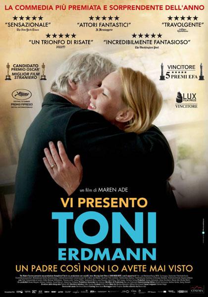 Locandina italiana Vi presento Toni Erdmann