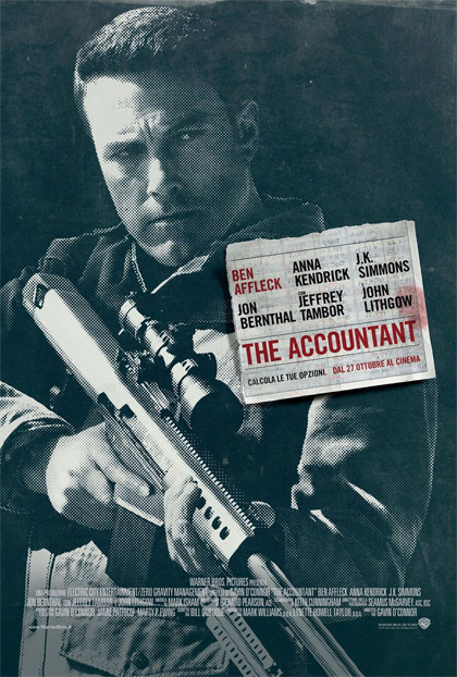 Locandina italiana The Accountant