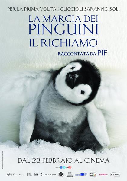 Locandina italiana La marcia dei pinguini - Il richiamo