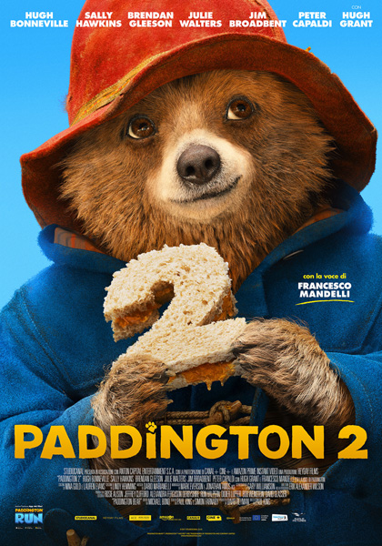Locandina italiana Paddington 2