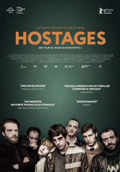 Locandina italiana Hostages