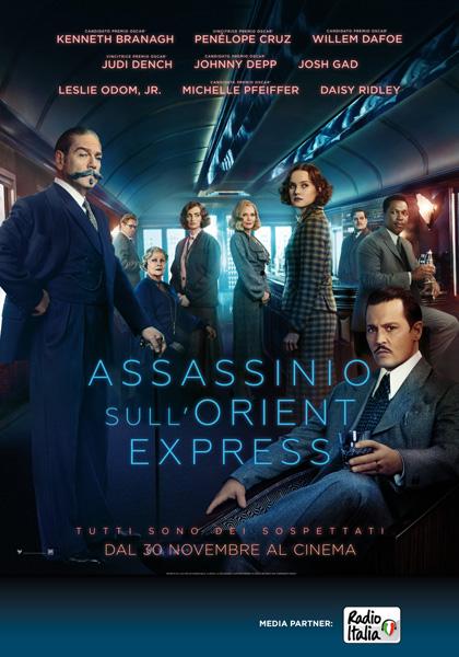 Locandina italiana Assassinio sull'Orient Express