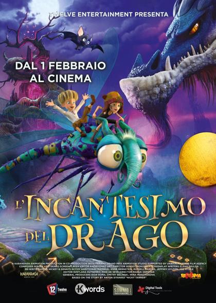 Locandina italiana L'Incantesimo del Drago