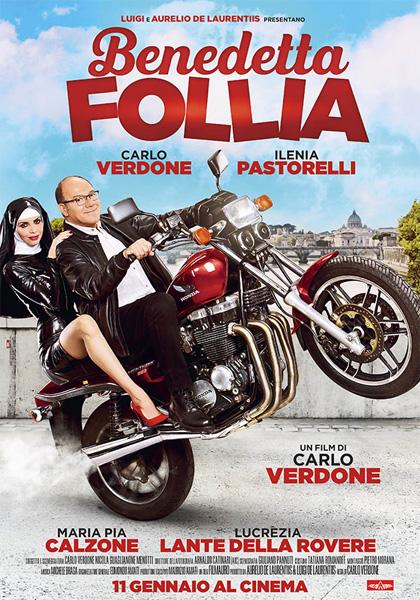 Locandina italiana Benedetta follia