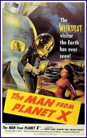 Locandina The Man From Planet X