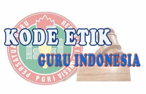 kode etik guru Indonesia